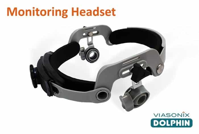 Monitoring Headset for Dolphin TCD Product Line