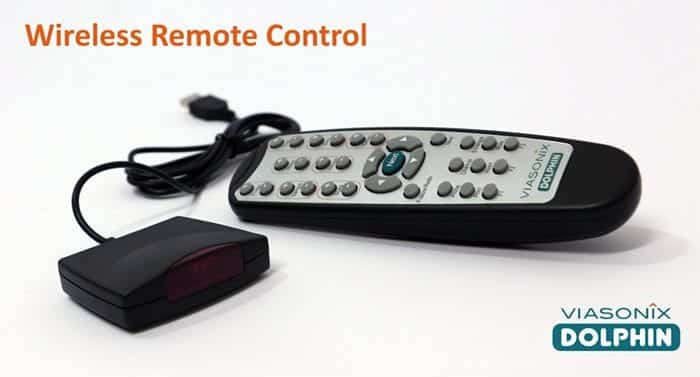 Wireless Remote Control for Dolphin TCD Product Line